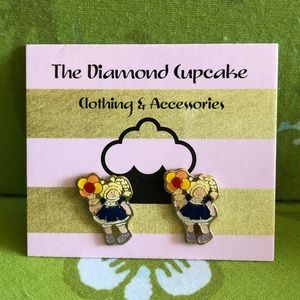 Jewelry - Cabbage Patch Doll With Balloons Earrings